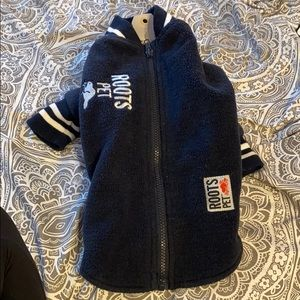 Roots Canada small Pet jacket small